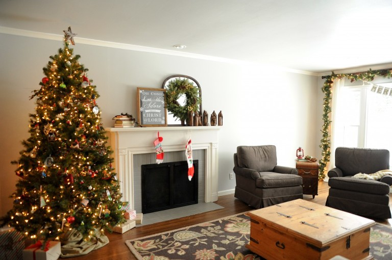 Our Home At Christmas Erin Goodrich Photography